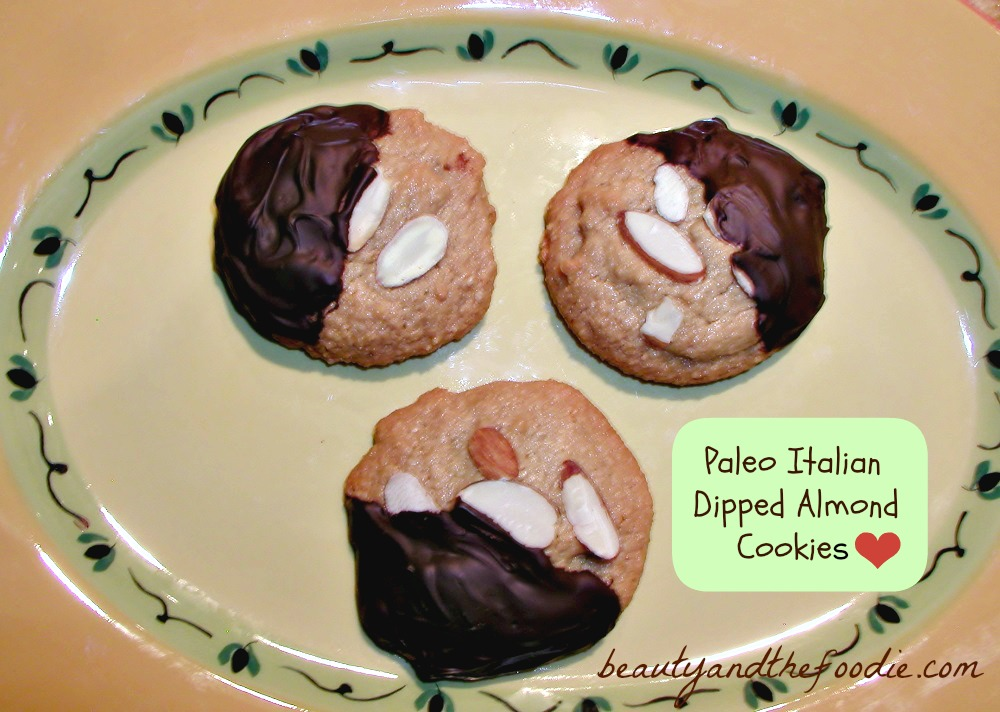 Paleo Italian Dipped Almond Cookies