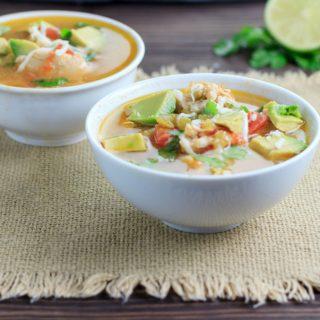 Sopa De Lima- Low Carb, Keto and Paleo