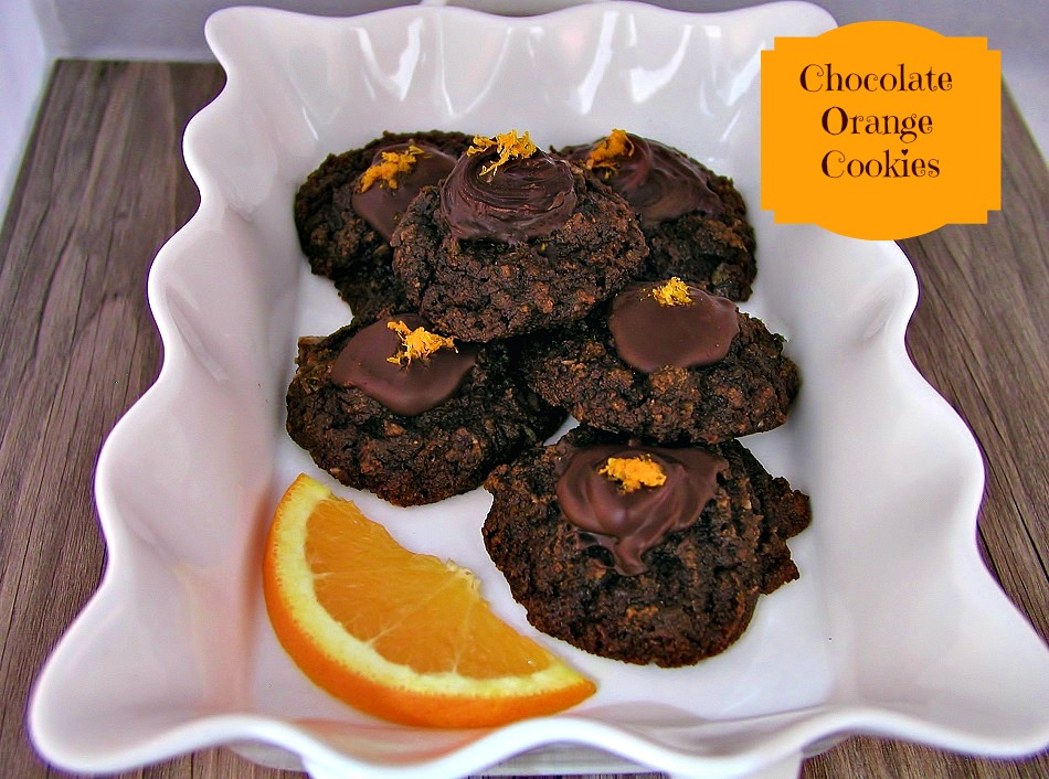 Paleo Chocolate Orange Cookies