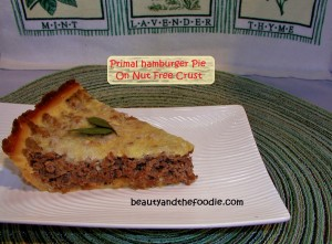 nut free burger pie