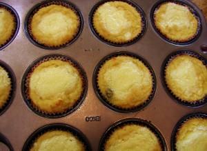 lemon berry danish muffins