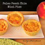 Peach Mini Pies- Paleo and Low Carb