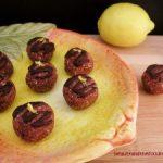 No Bake Chocolate Lemon Dream Balls- Low Carb & Paleo