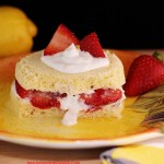 A quick & easy to make keto strawberry shortcake.
