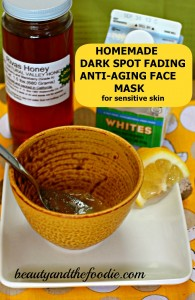 DIY Spot Diminishing Anrti-Aging Mask photo 3