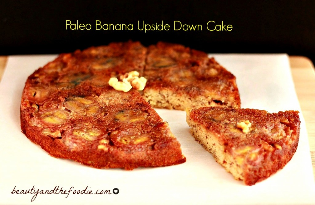 Paleo Banana Upside Down Cake photo 164 b