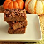 Magical Paleo Pumpkin Cruble Bars- Low Carb & gluten free.