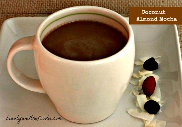 Coconut Almond Mocha (paleo) / beautyandthefoodie.com