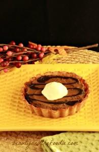 Pumpkin Chocolate Gingerbread Tarts photo 082 a