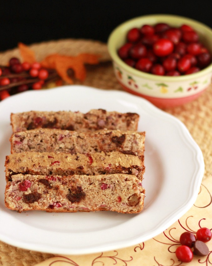 Chocolate Chip Cranberry Pecan Bread