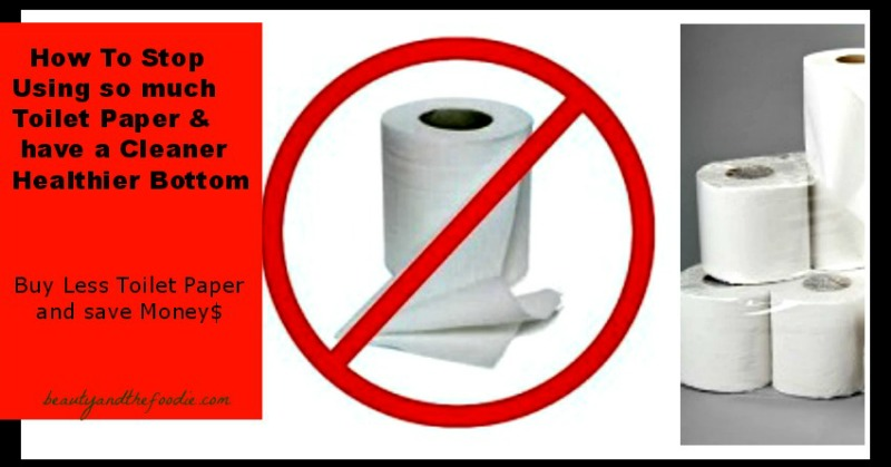 How To Stop Using So Much Toilet Paper