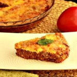 crust free hamburger paleo pie