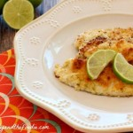 Garlic Lime Filet of Fish with garlic lime butter/ grain free, paleo , low carb / beautyandthefoodie.com