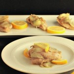 Lemon Honey Mustard Chicken / beautyandthefoodie.com