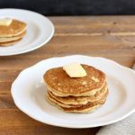 "Paleo ""Buttermilk"" Pancakes. grain free and low carb. beautyandthefoodie.com"