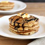 Choco Nutty Tiger Pancakes, paleo and low carb.
