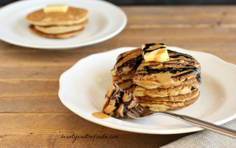 Choco Nutty Tiger Pancakes, paleo and low carb Choco Nutty Tiger Pancakes, Paleo, gluten free and low carb. beautyandthefoodie.com