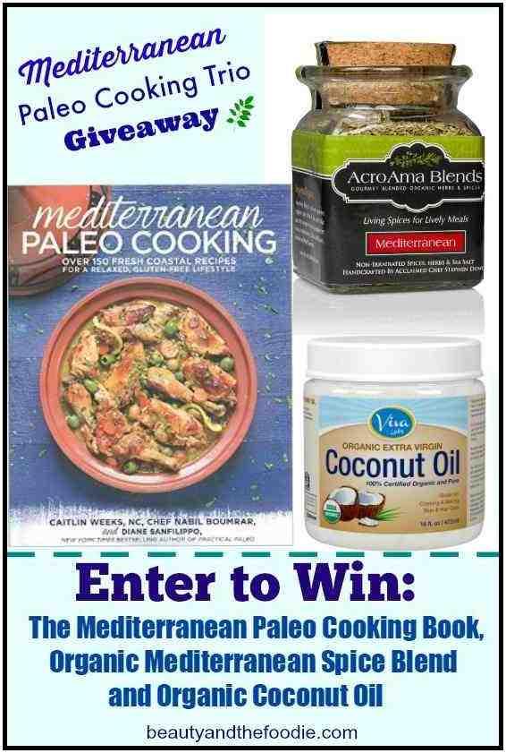 Mediterranean Paleo Cooking Trio Giveaway
