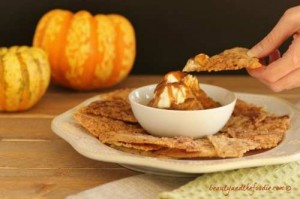 Paleo-Pumpkin-Pie-Nachos, grain free and low carb