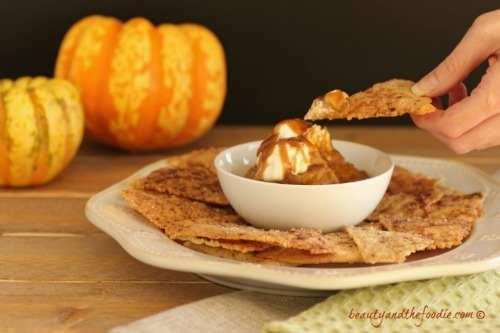 Paleo-Pumpkin-Pie-Nachos, grain free and low carb