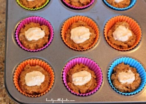 Sour Cream Pumpkin Butter Muffins