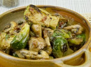 Creamed Brussel Sprouts