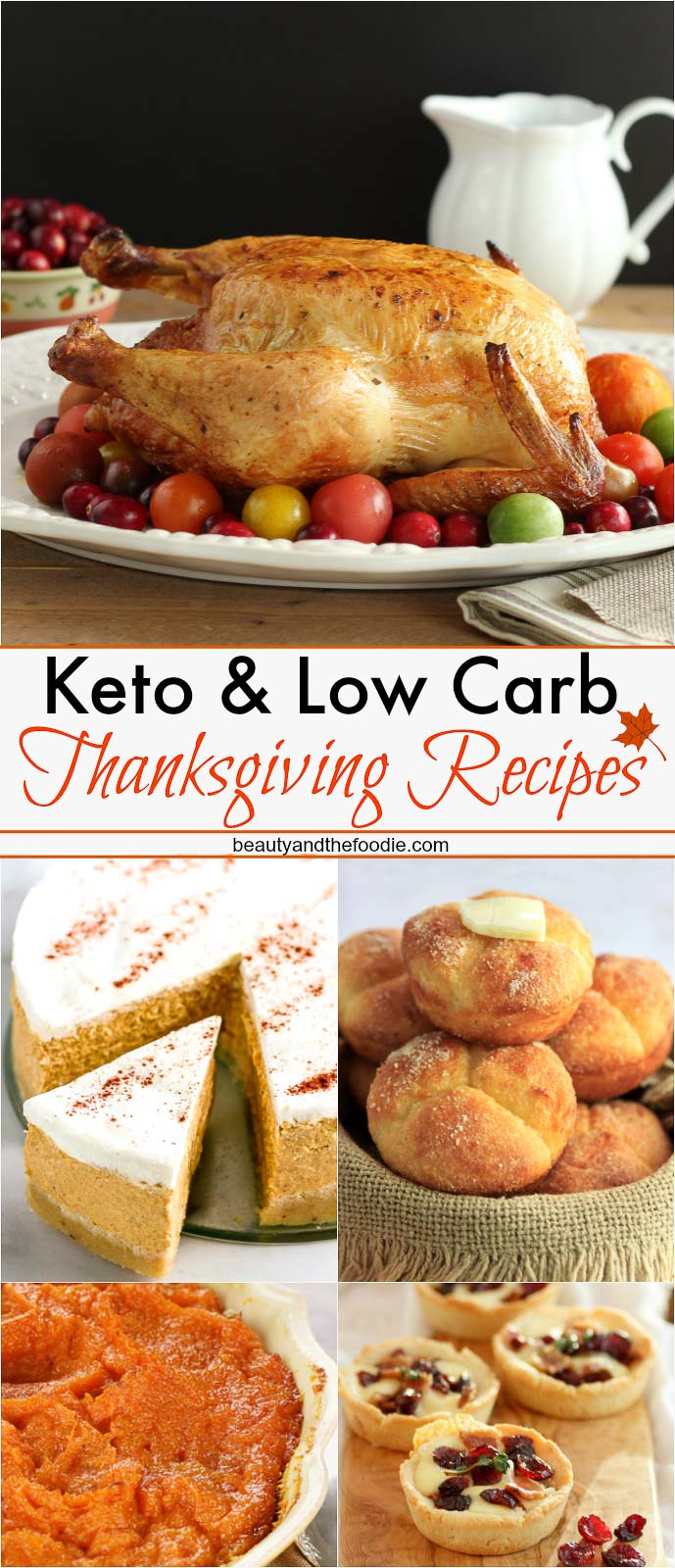 Grain Free, Low Carb, Keto, Thanksgiving Recipes