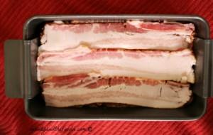 Bacon Mushroom Stuffed Turkey Meatloaf step 2