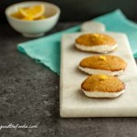 Paleo Lemon Cream Sandwich Cookies grain free with low carb version
