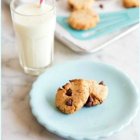 Paleo chocolate chip cookie recipe and book giveaway #paleocookies #paleoeatsbookgiveaway