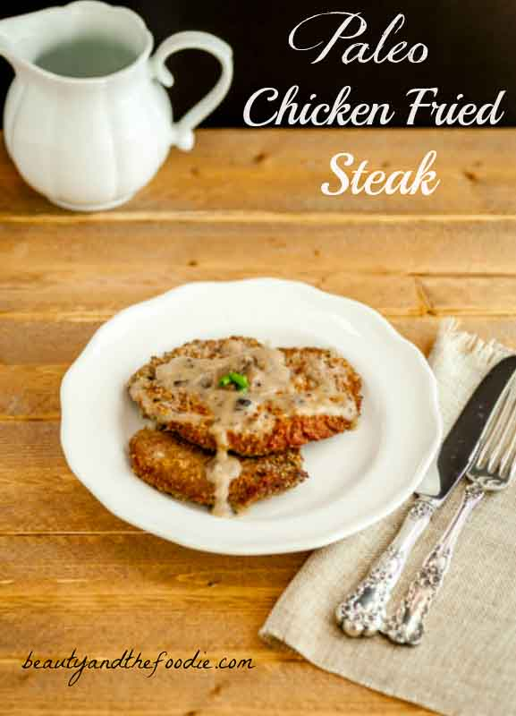 Sothern Chicken Fried Steak Paleo #lowcarb #chickenfriedsteak