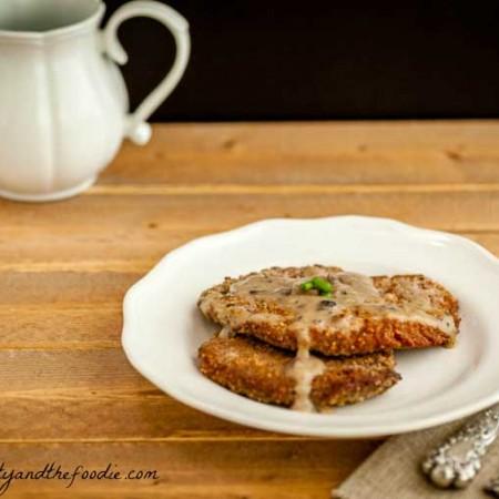 paleo chicken fried steak #chicken friedsteak #lowcarb