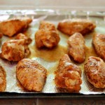 saucy baked buffalo chicken wings