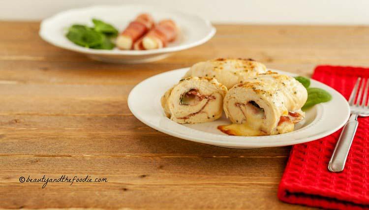 Italian Cheesy Stuffed Chicken, grain free low carb