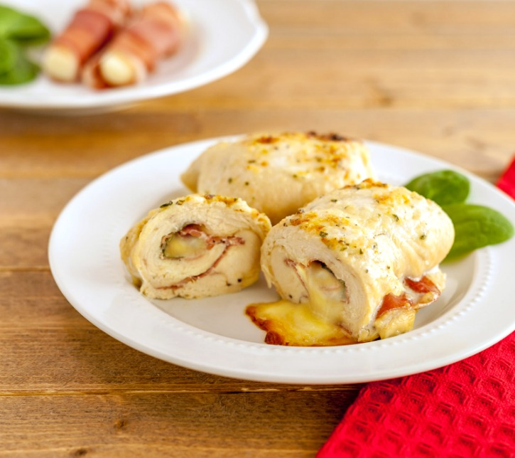 Italian Cheesy Prosciutto Stuffed Chicken, grain free and low carb