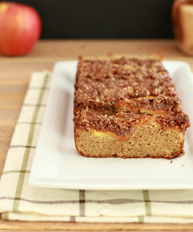 French Apple Pie Bread- paleo and low carb