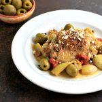 Easy Greek Chicken Bake- Low carb & Paleo