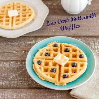 Low Carb Buttermilk Waffles