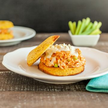 Buffalo Ranch Chicken Salad Sandwiches, grain free , low carb