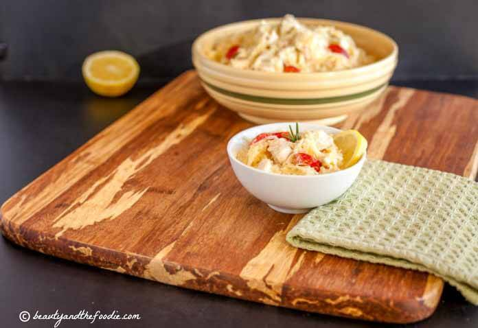 """LLemon Garlic Chicken"""" Noodle"""" Bake, grain free and low carb"""