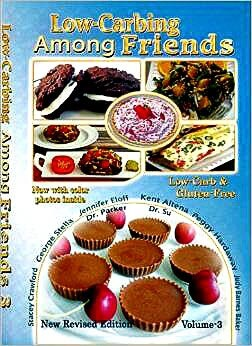 Low Carb Cookbook Giveaway, low carbing among friends vol 3