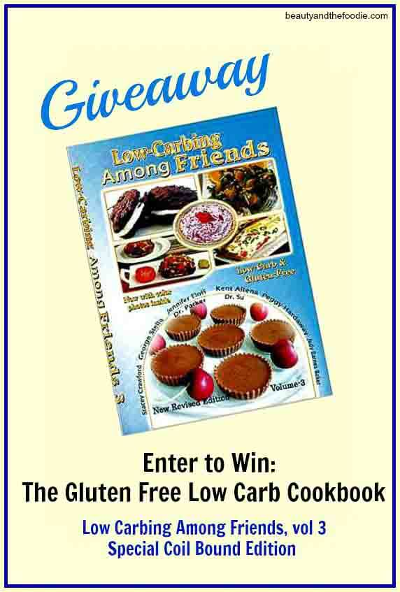Low Carb & Gluten Free Cookbook Giveaway