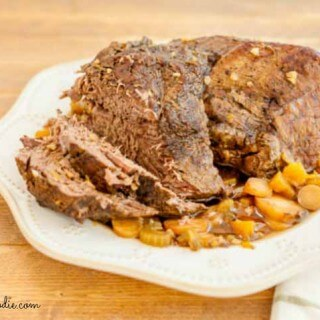 Slow Cooker Coffee Roasted Beef, grain free, paleo and low carb