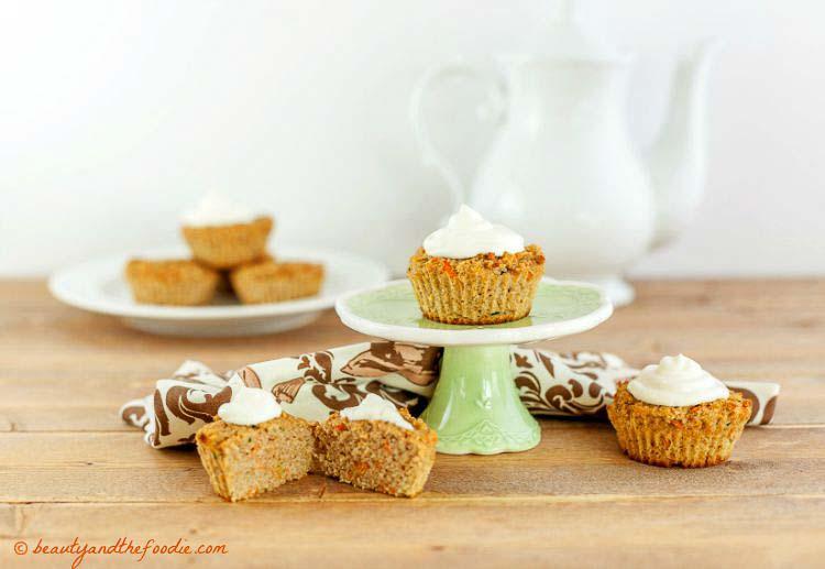 Keto Diet Carrot Cake Recipe: Carrot Cake Zucchini Muffins