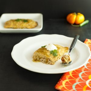 Low carb & keto pork tamales with Verde Sauce.