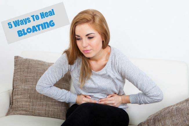 5 Ways to Heal Bloating Problems