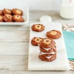 Double Chocolate Buckeye Blossom Cookies, So Good!! grain free, paleo, low carb, keto.
