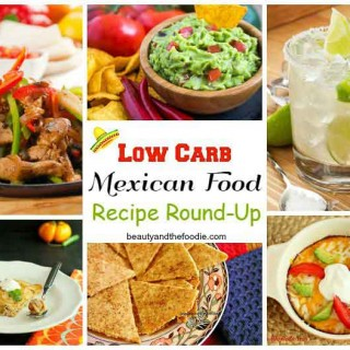 Low Carb Mexican Recipe Roundup