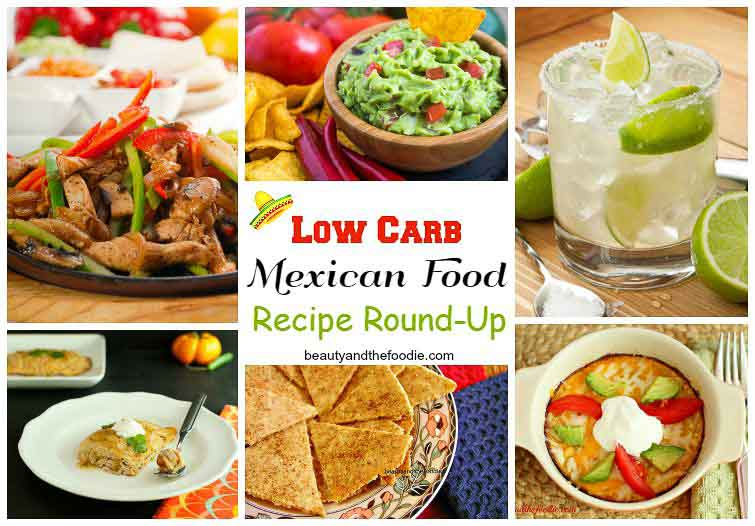 Low Carb Mexican Recipe Roundup, low carb, keto, primal and gluten free