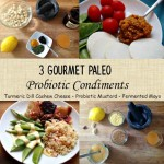 3 Paleo Probiotic Condiments- easy to make, healthy grain free condiments
